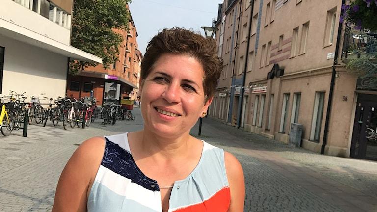 Fairooz Tamimi är initiativtagare till nätverket för invandrade ståuppkomiker