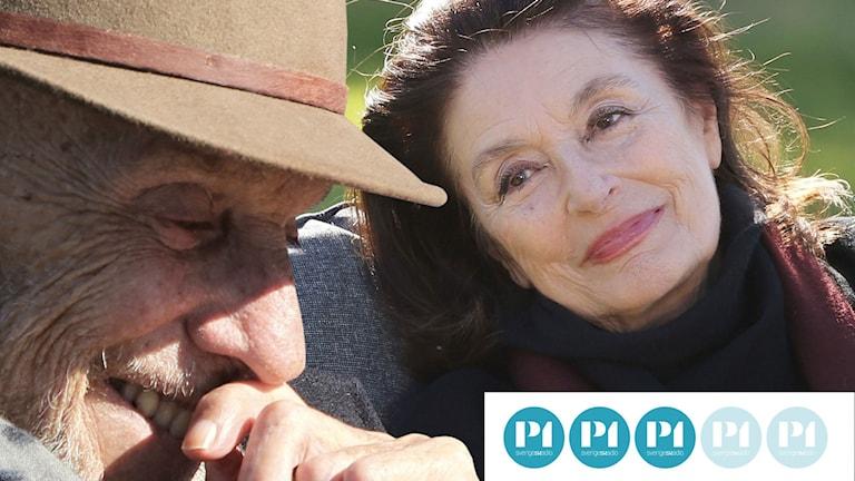 """Jean-Louis Trintignant och Anouk Aimée i """"Livets bästa år""""."""