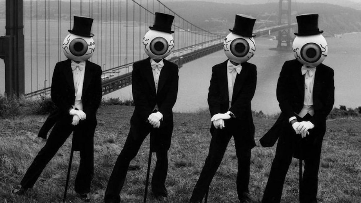 The Residents vid Golden Gate.