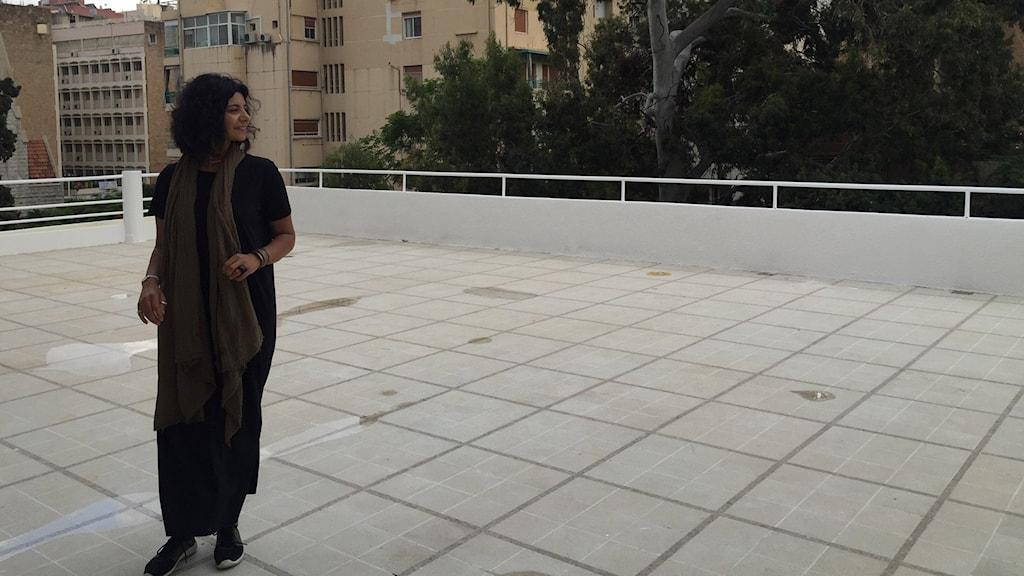 Rasha Salah är chef för det nya museet i Beirut, Dar El-Nimer. Deras första utställning är en satellit utställningen från det palestinska museet: at the seams - a political history of Palestinian Embroidery.