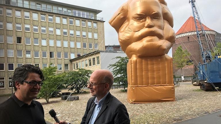 Mario Bäumer, Gunnar Bolin och Karl Marx