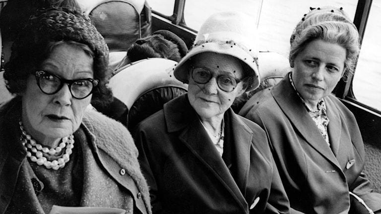 Tanter på resa