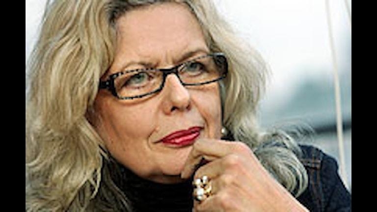 Marianne Lindberg de Geer. Foto: Jonas Ekströmer/Scanpix.