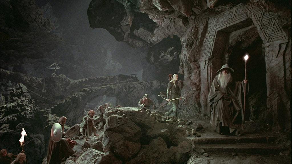 """Peter Jacksons filmatisering av """"Lord of the rings"""" blev en stor succé."""