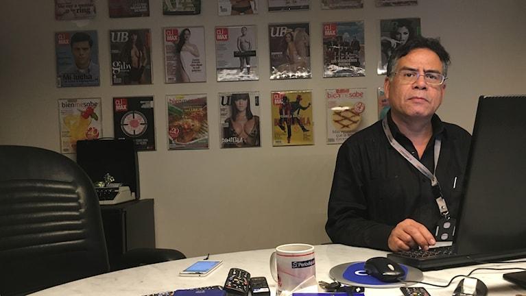 Omar Lugo startade webbtidningen El Estímulo för två år sedan. Många traditionella medier har tystats, autocensurerats eller tvingats stänga ner de senaste åren.