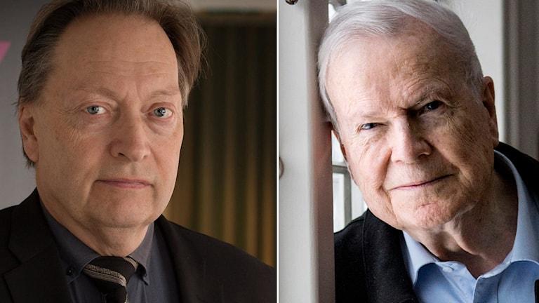 Horace Engdahl och Kjell Espmark.