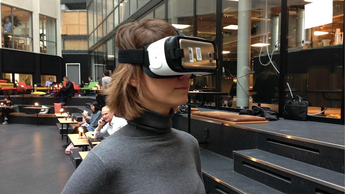 Elena Malakhatka, arrangör av VR-filmfestivalen.