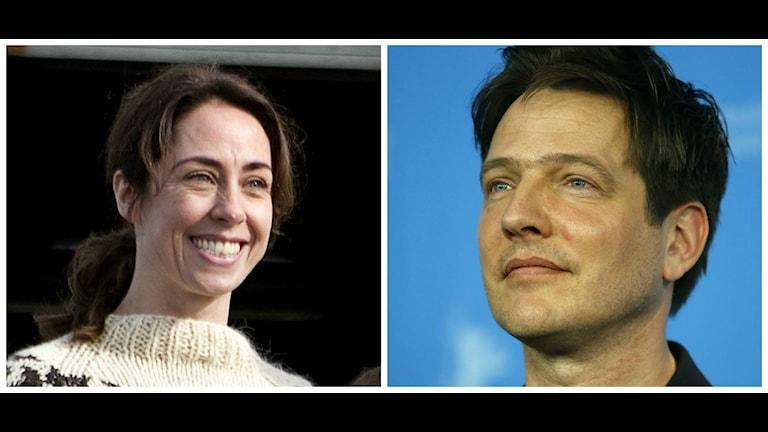 Två av de kritiska kulturprofilerna, filmregissörn Thomas Vinterberg och skådespelaren Sofie Gråbøl.