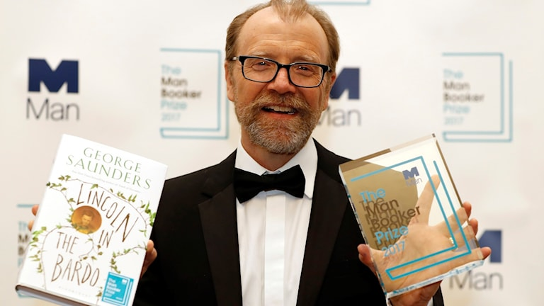 George Saunders, USA, vann det senaste Man Booker prize.