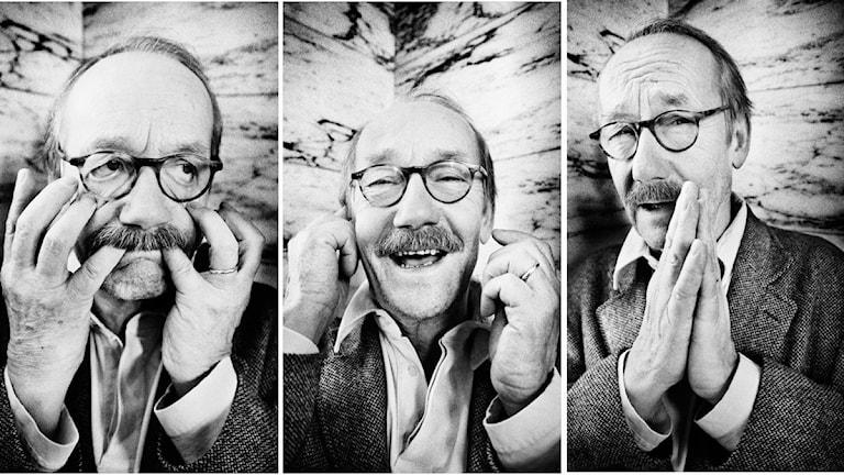 Splitt på tre foton av Gösta Ekman