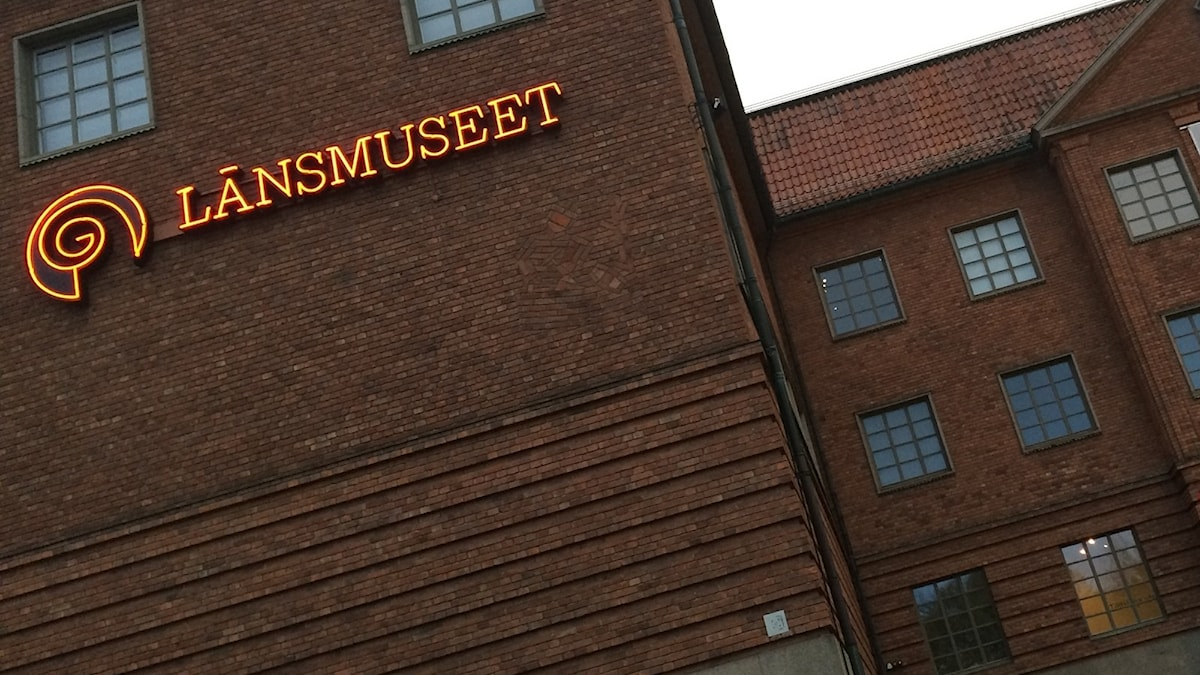 Länsmuseets fasad.