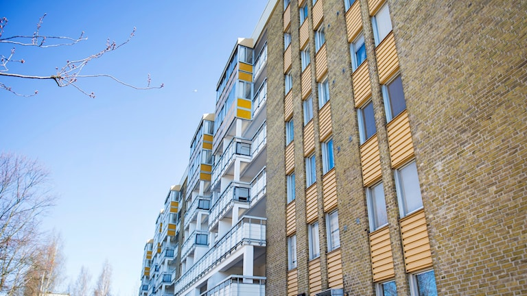 Rosengård, en av förorterna som ingår i SD:s förslag.