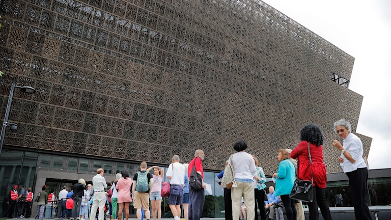 Smithsonian National Museum of African American History and Cultural i Washington.