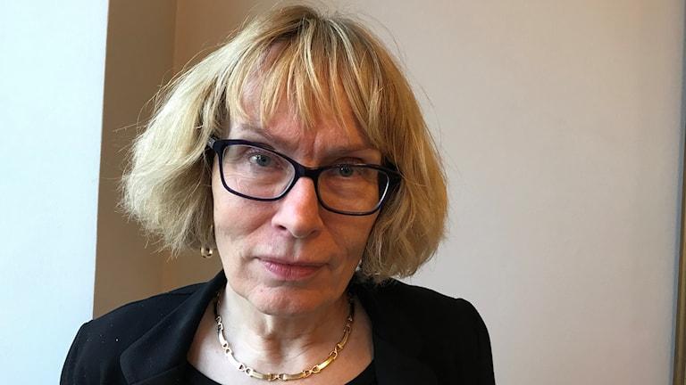 Norska feministen och litteraturvetaren Toril Moi.