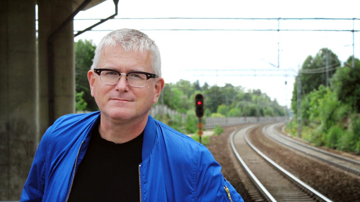Per Wirtén, författare och skribent.