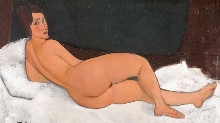 Nakenstudie 1917, privat samling