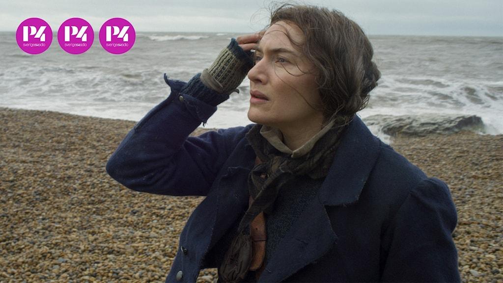 "Kate Winslet som paleontologen Mary Anning i ""Ammonite""."