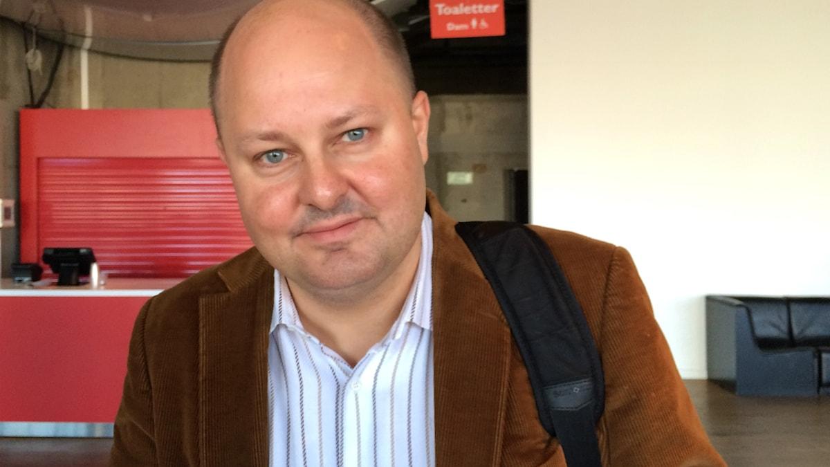 Thomas Mattsson, ansvarig utgivare och chefredaktör på Expressen.