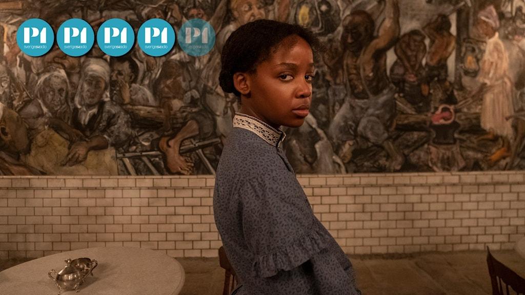 """""""The Underground Railroad"""" handlar om Cora som rymmer från slaveriet i Georgia."""