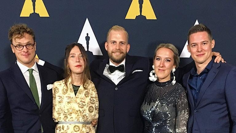 Axel Nygren, Amanda Högberg, Jonathan Etzler, Nea Asphälloch Johan Lundström.