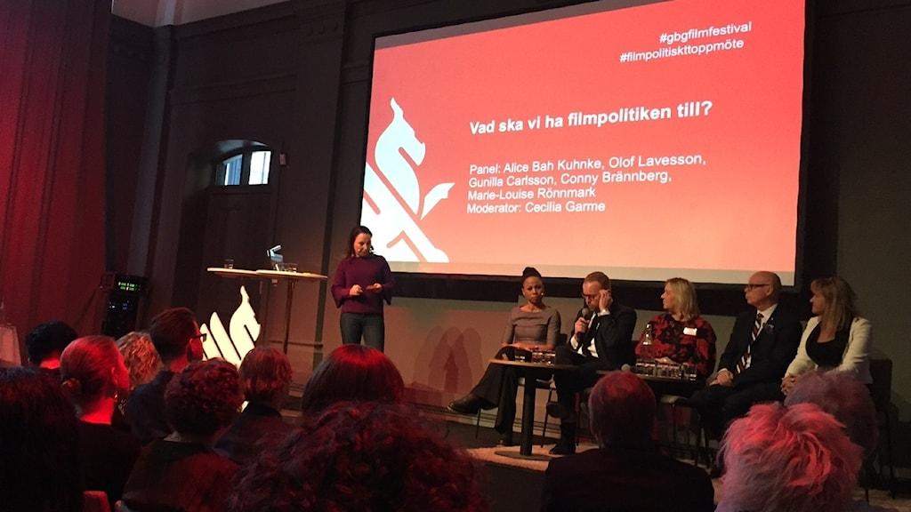 Filmpolitiskt toppmöte i Göteborg