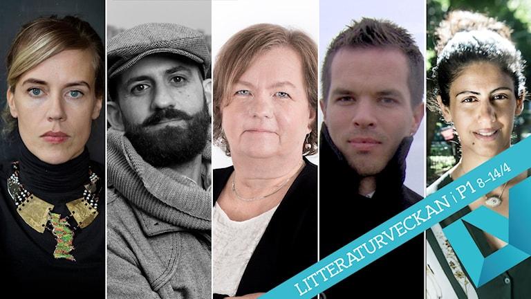 Annika Norlin, Duraid Al-Khamisi, Mona Mörtlund, Mårten Melin och Golnaz Hashemzadeh Bonde är nominerade till Sveriges Radios Novellpris 2019.