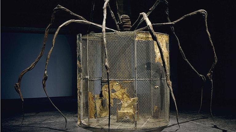 Big Spider av Louise Bourgeois 1997