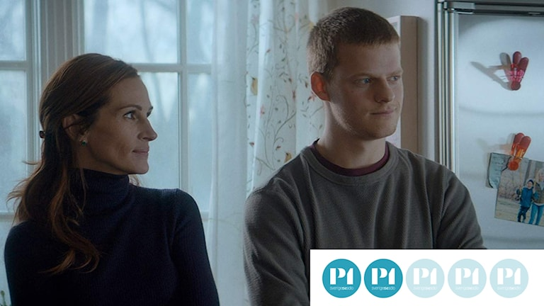 Julia Roberts och Lucas Hedges i Ben is back. Foto: Noble Entertainment.