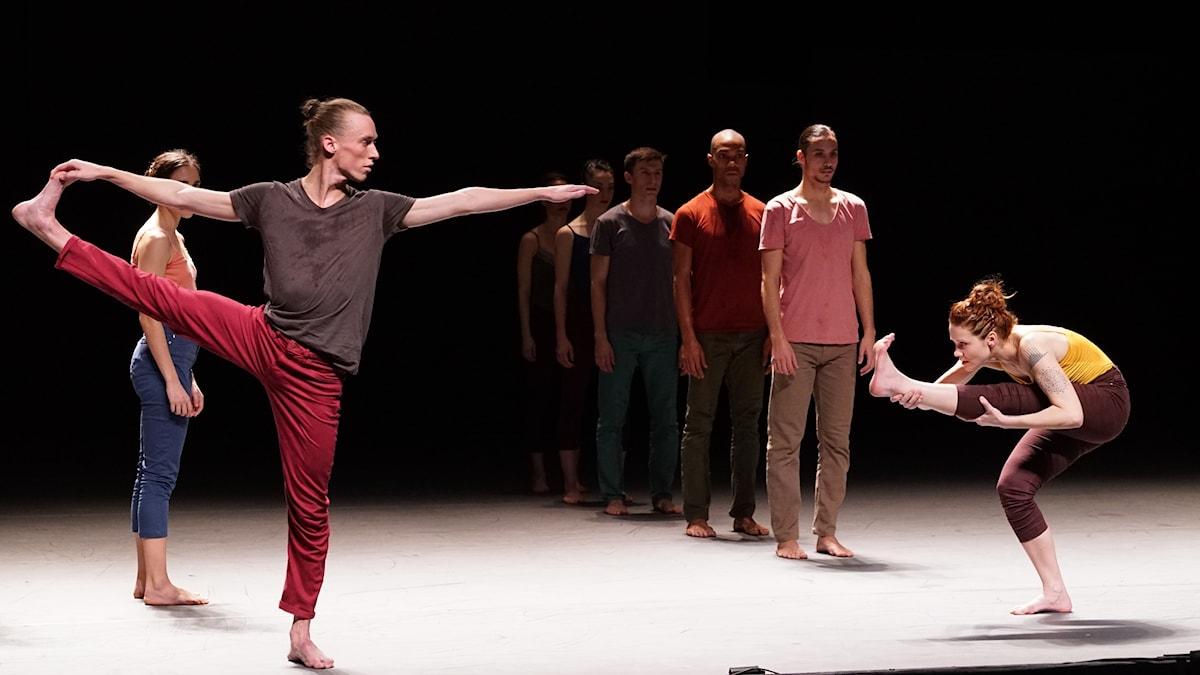Three med Batsheva Dance Company