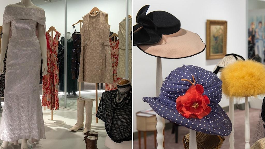 Hattar och vintageklänningar