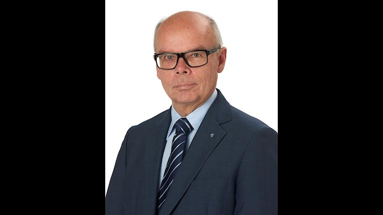 Bilden föreställer Kristdemokraternas lokalpolitiker Conny Brännberg