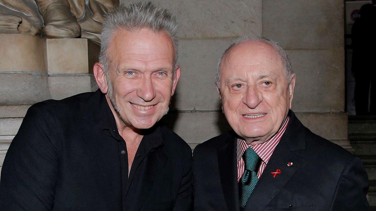 Pierre Berge, till höger i bilden, har avlidit.