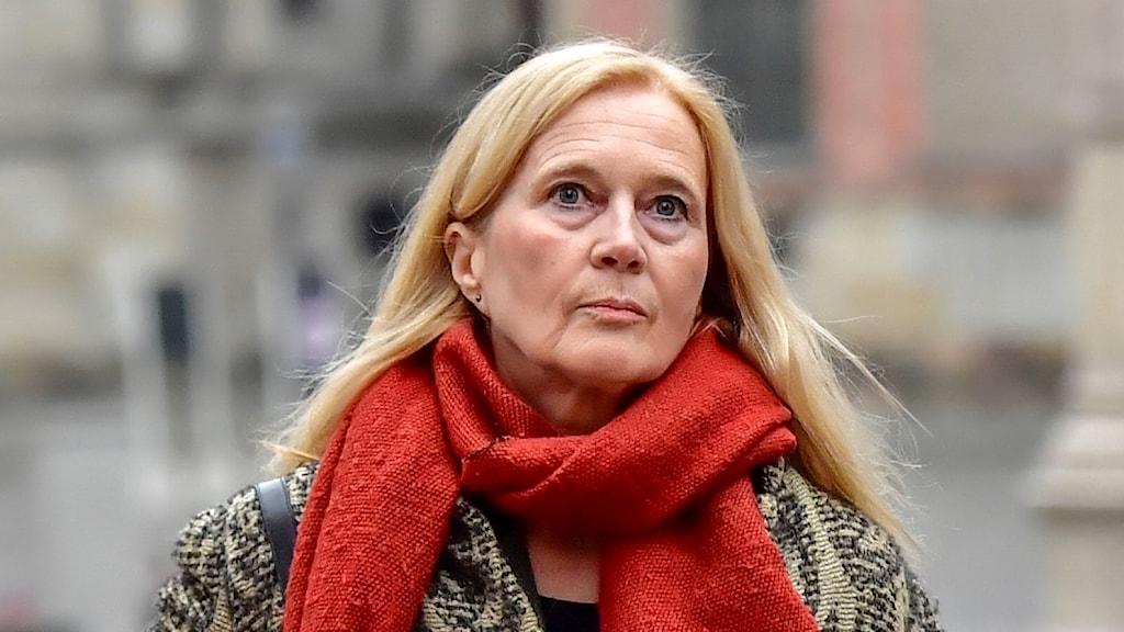 Poeten och tidigare Svenska Akademien-ledamoten Katarina Frostenson.