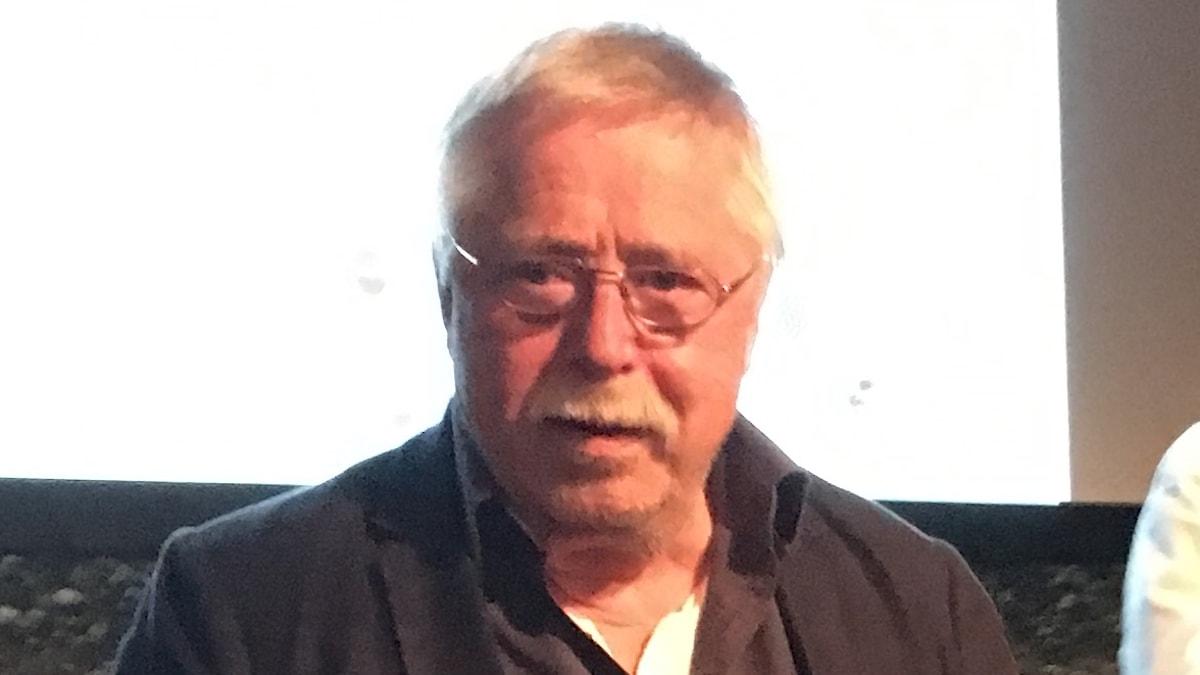 Wolf Biermann på sin valturné foto SR