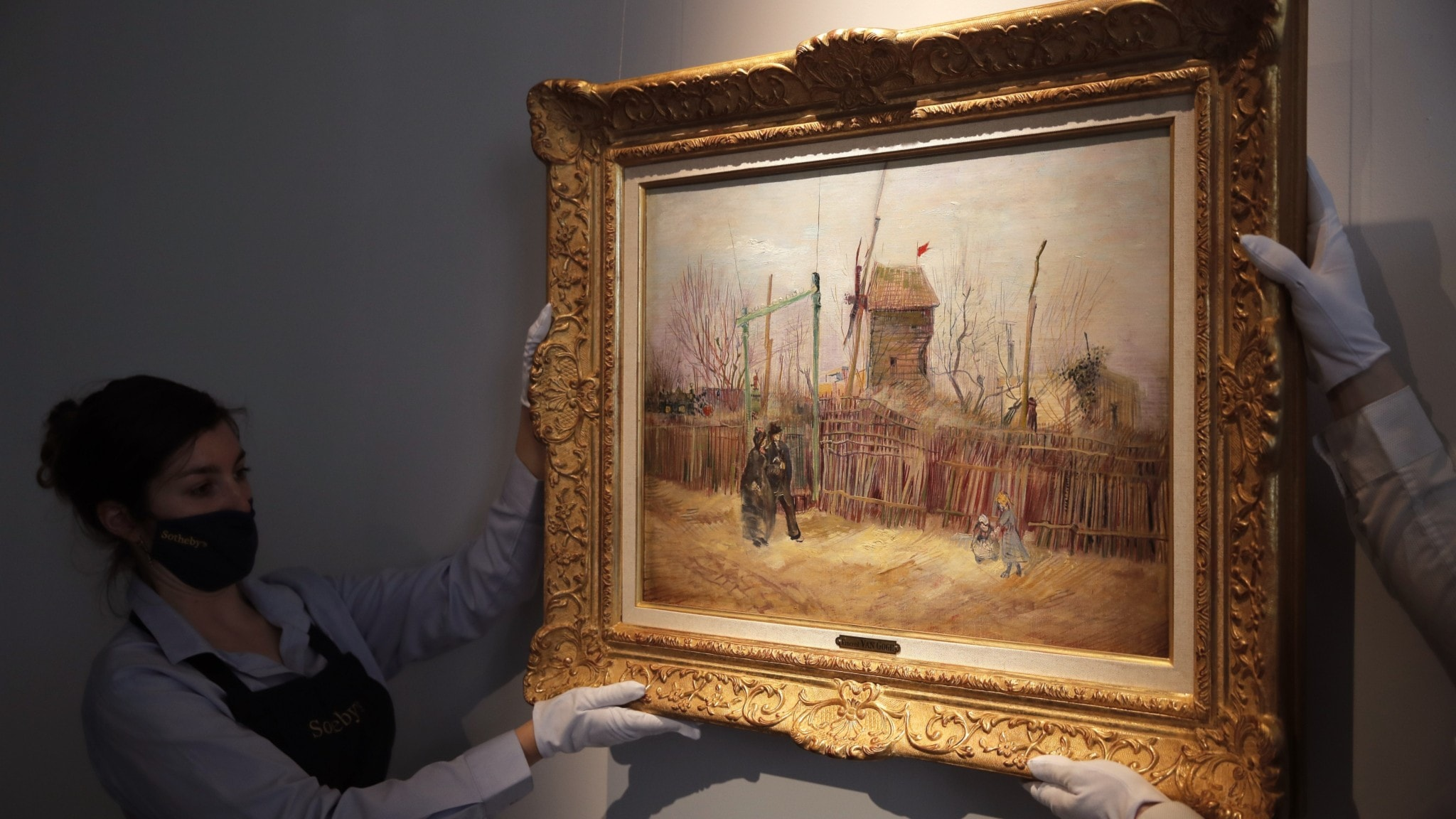Okänd Van Gogh-målning såld för 130 miljoner