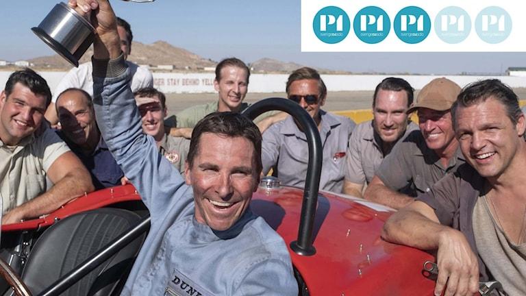 "Christian Bale gör den ena huvudrollen i filmen ""Le Mans ´66""."