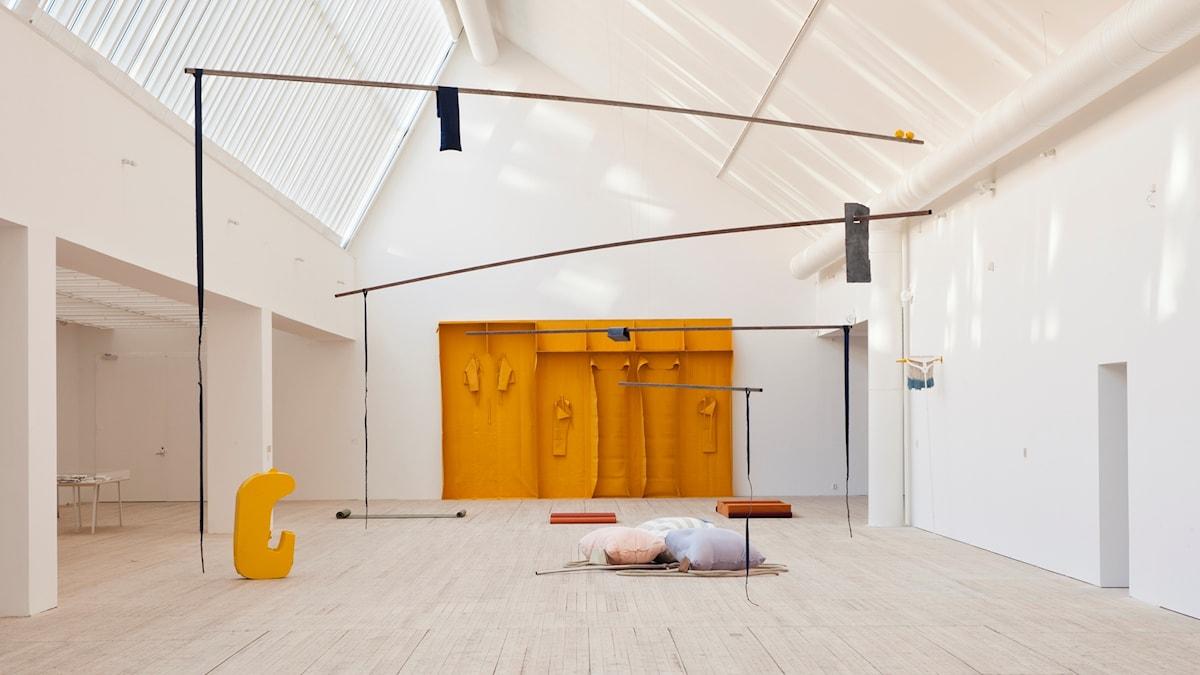 En del av utställning Odradek på Malmö konsthall.