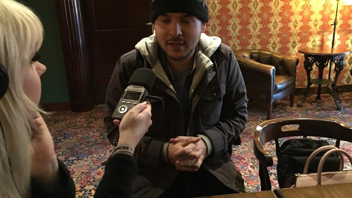 Tim Pool intervjuas av kulturnytt