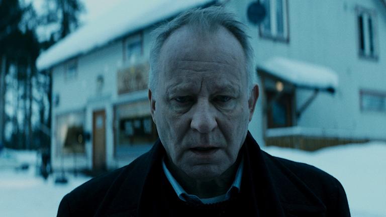 """Stellan Skarsgård i filmen """"Ut och stjäla hästar""""."""