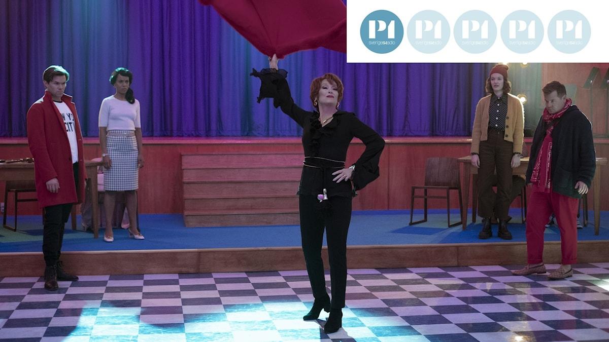Bilden föreställer filmen The Prom med Meryl Streep