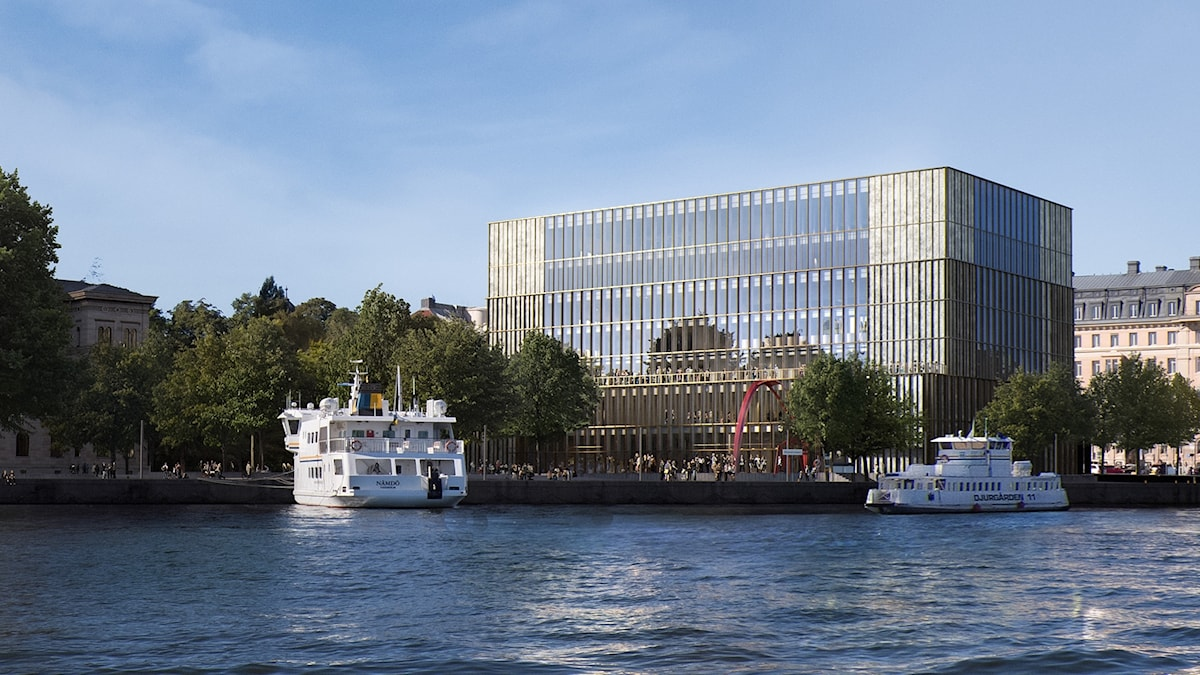 Det planerade Nobel Center.