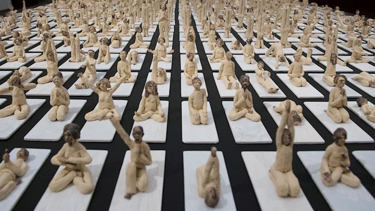 """""""Andas in - andas ut. Ett år med yoga"""" av Stefan Bennedahl"""