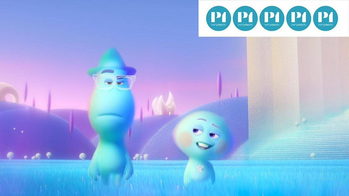 """Joe Gardner försöker hitta tillbaka i sin kropp i Pixars """"Själen""""."""