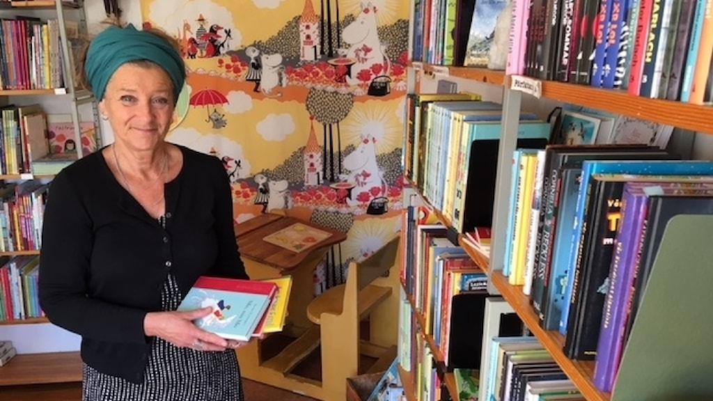Annika Edlund. Foto: Madeleine Harrati, Sveriges Radio.