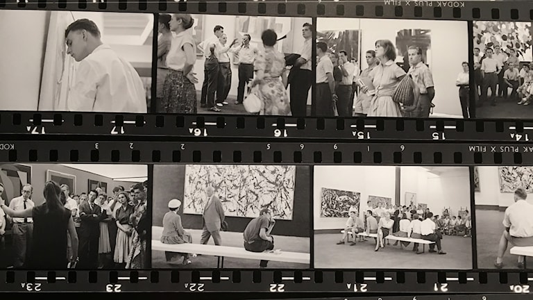 """Fotonotizen documenta 2"" (1959) av Hans Haacke."