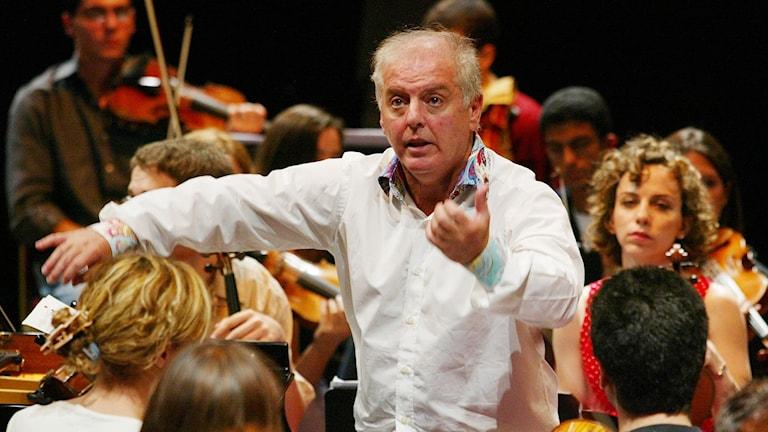 Dirigenten Daniel Barenboim.