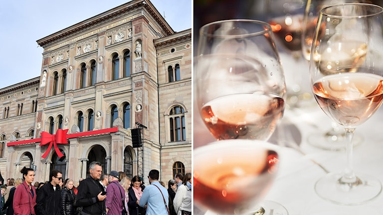 Nationalmuseum kan ha brutit mot lagen när de bytt till sig vin.