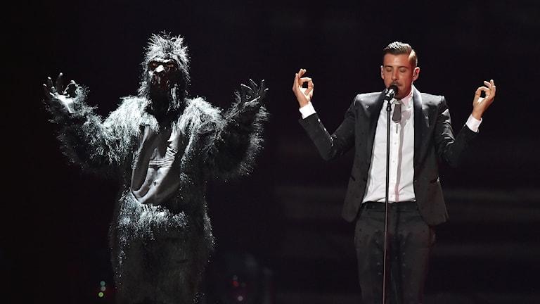 Francesco Gabbani under Eurovision Song Contest.