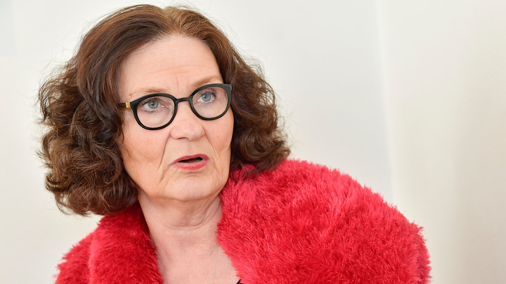 Litteraturprofessorn Ebba-Witt Brattström