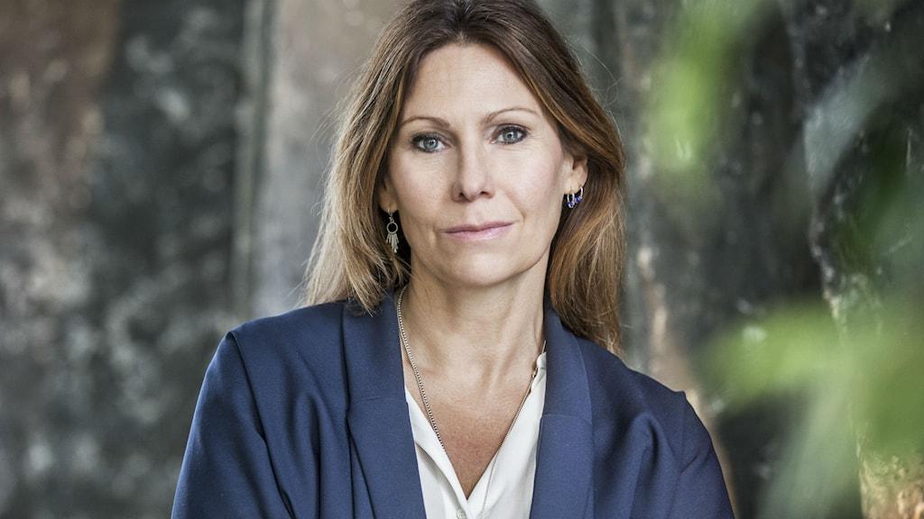 Bilder föreställer SVT Dramas chef Anna Croneman.